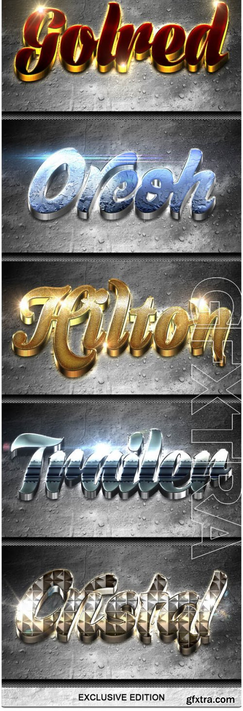 8 Modern 3D Exclusive Edition Vol.3 - GraphicRiver 9219955