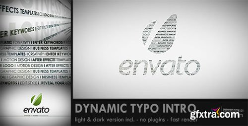 VideoHive - Dynamic Typo Intro 2207350