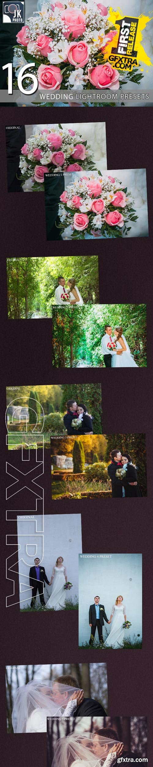 GraphicRiver - 16 Wedding Premium Lightroom Presets 9893863