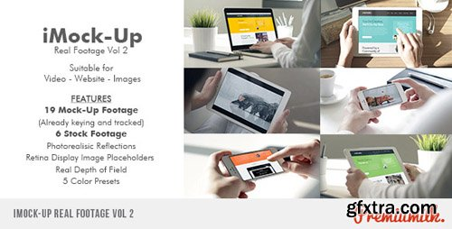Videohive - iMock-Up Real Footage Vol 2 9778156