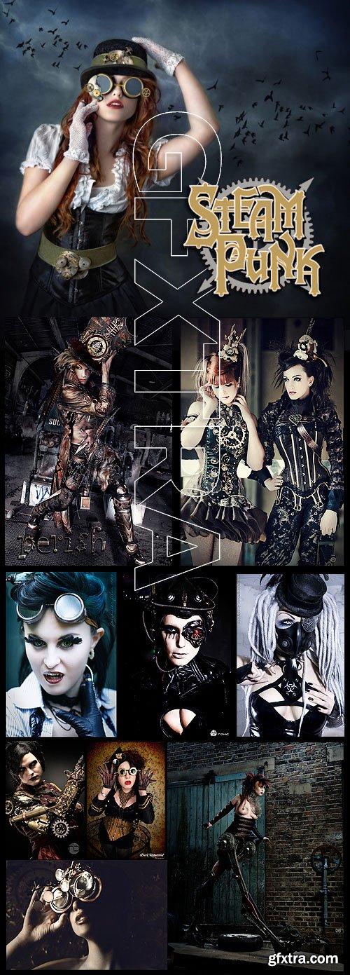 Steampunk Fashion Collection 130xJPG