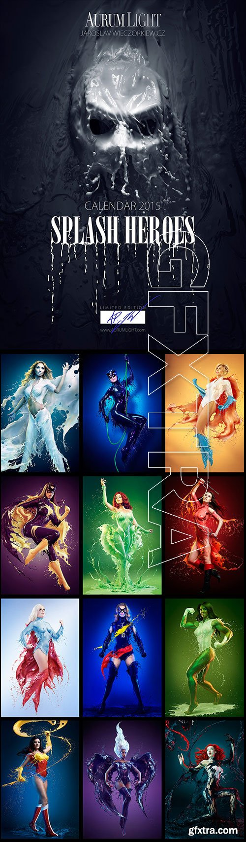 Aurum Light Photo Artworks 2015 Calendar - Jaroslav Wieczorkiewicz