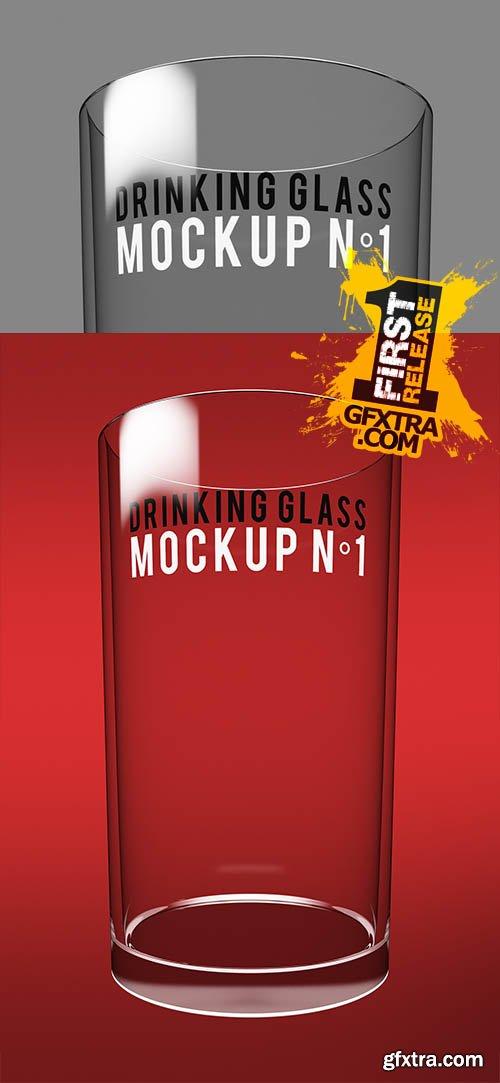 Drinking Glass Mockup N°1 - CM 142272