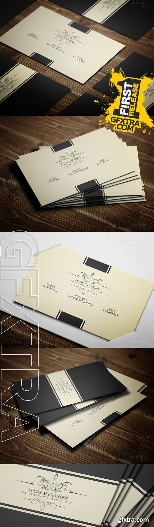 Classy Business Card - CM 20194