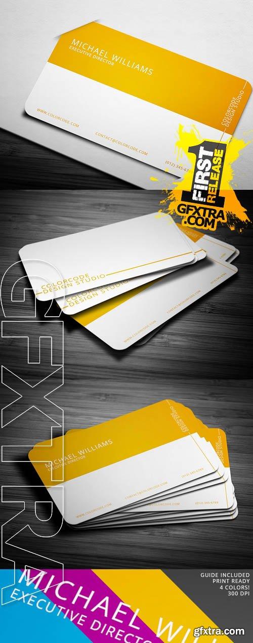 Chromatic Business Card - CM 35853