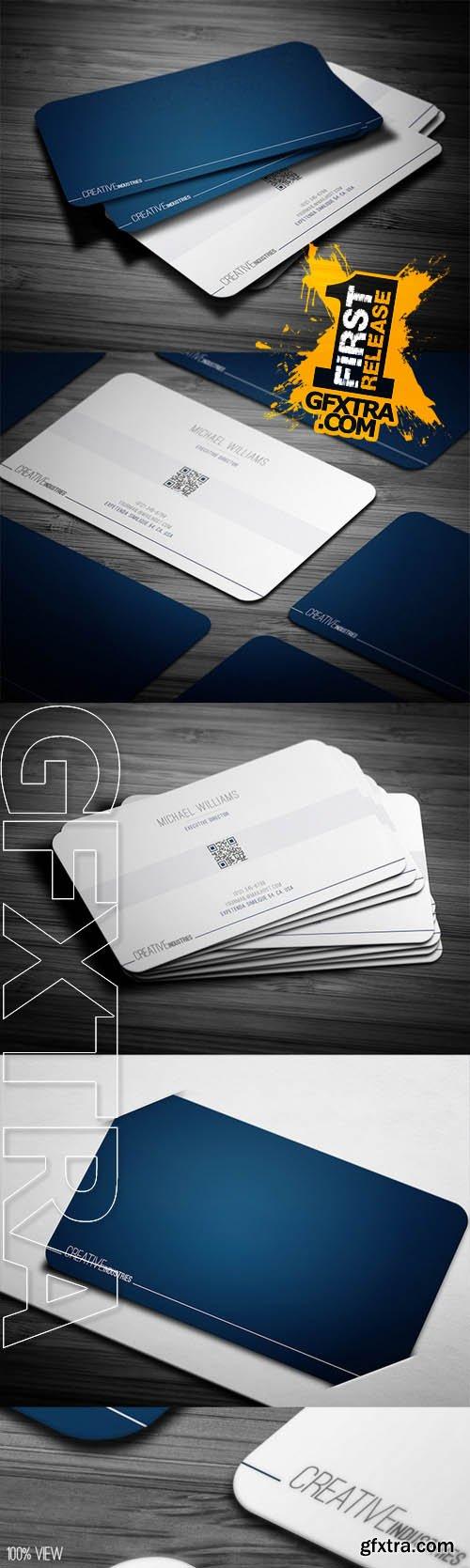 Deep Blue Business Card - CM 79721