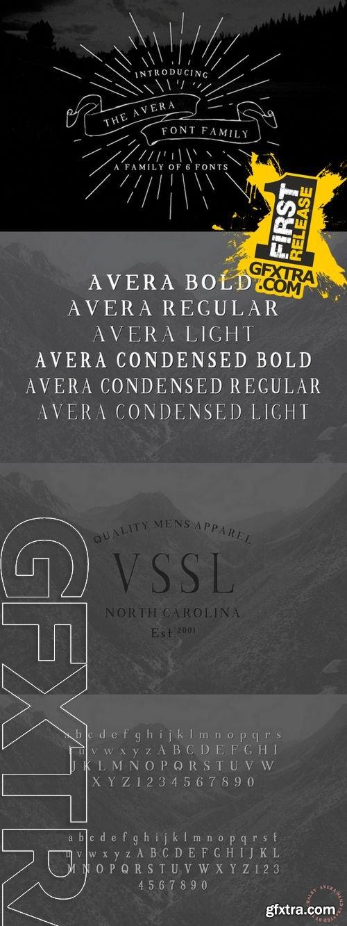 Avera Font - CM 125781