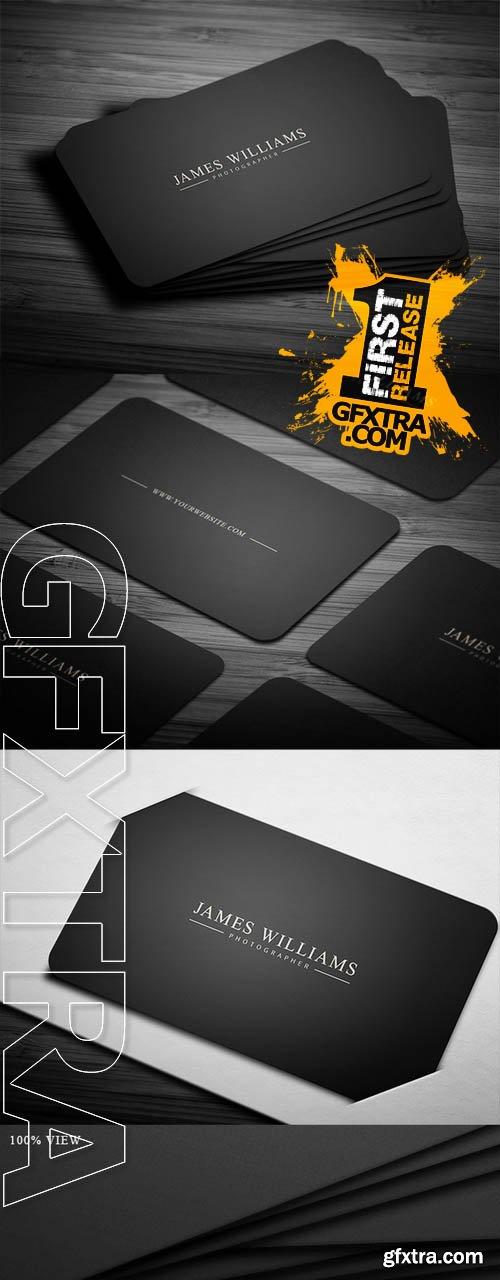 Elegance & Simplicity Business Card - CM 79725