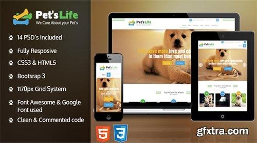 Mojo-Themes - Pets life HTML Template - RIP