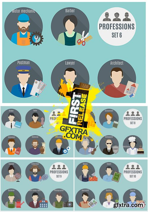 Vector - Profession People Icons 2