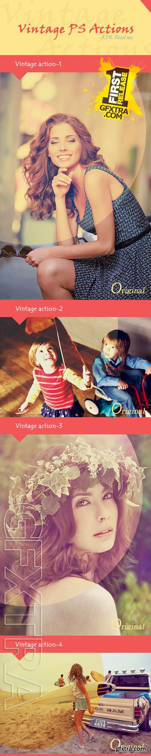 GraphicRiver - Vintage PS Actions 10 9784259