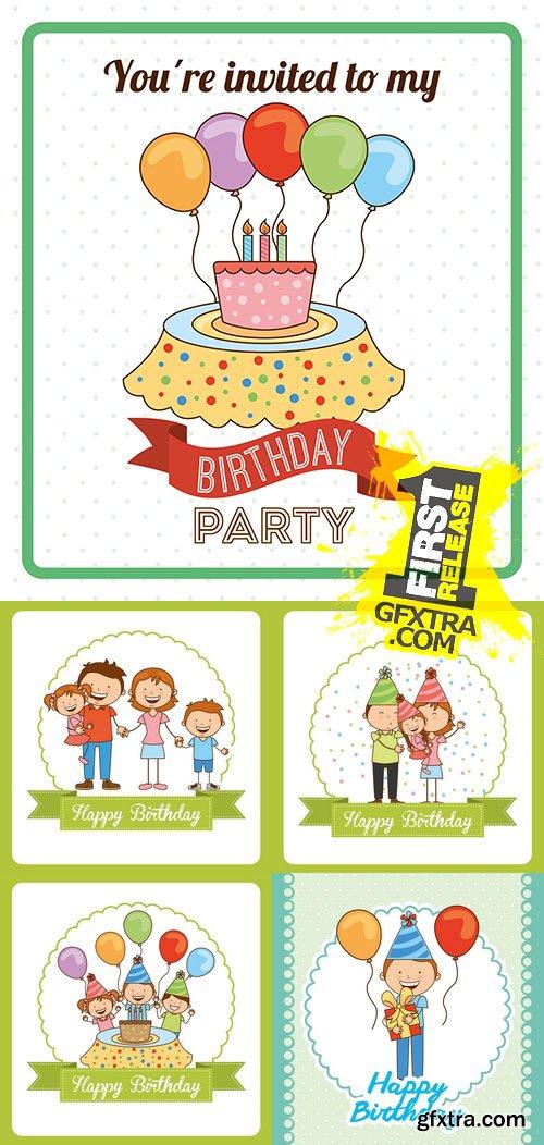Vector - Happy Birthday