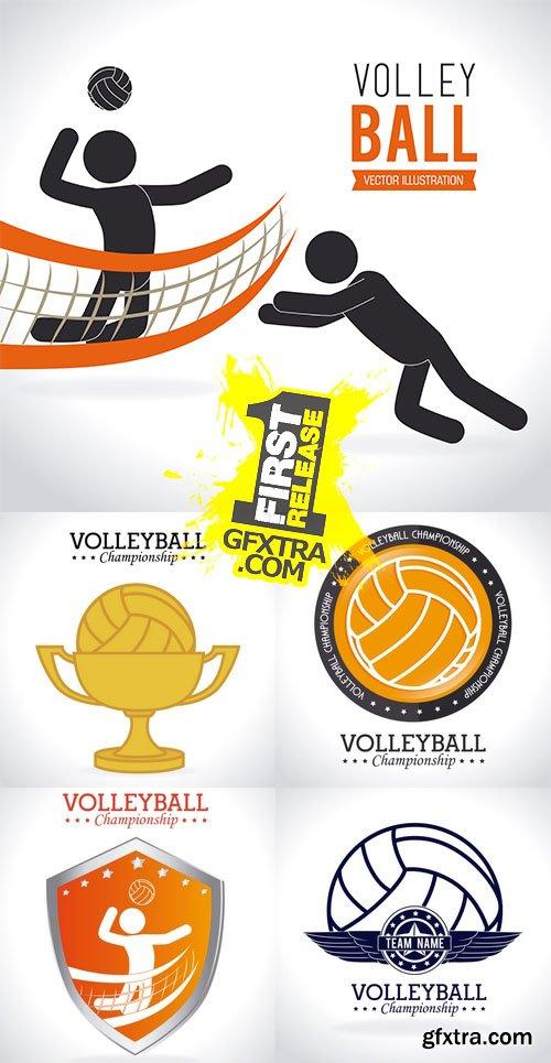 Vector - Sport - Volleyball