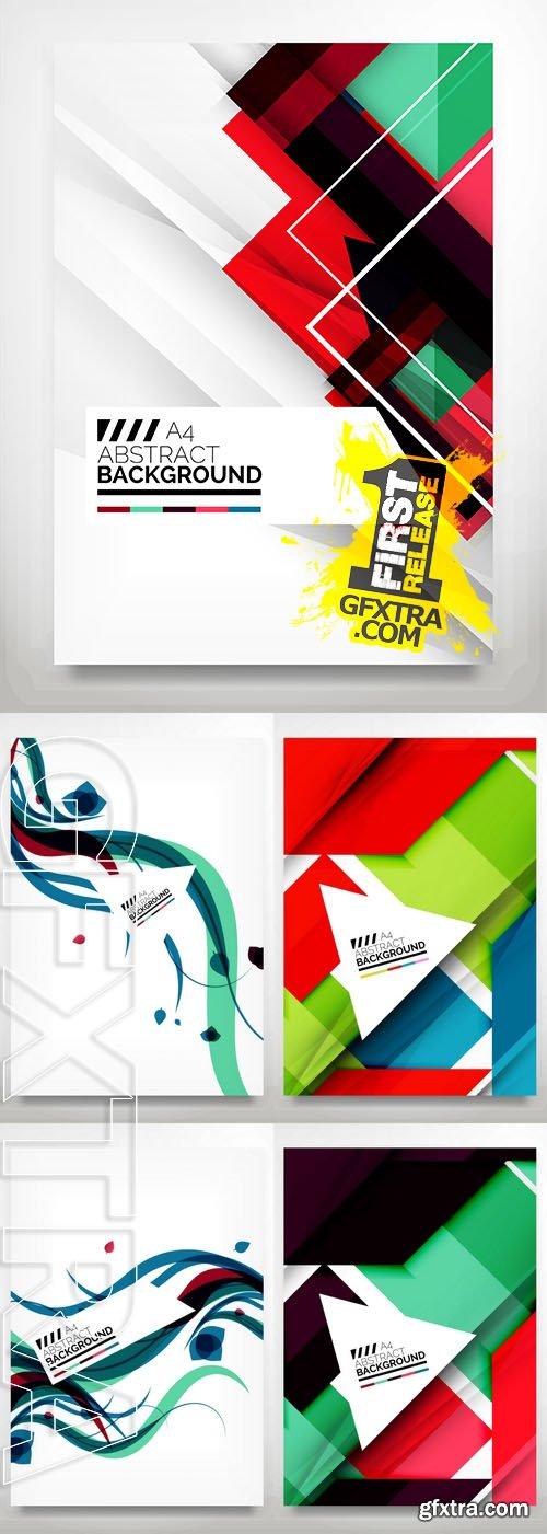 Vector - Flyer, Brochure Design Template 2