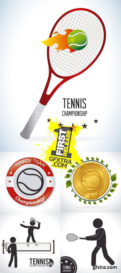 Vector - Tennis Design