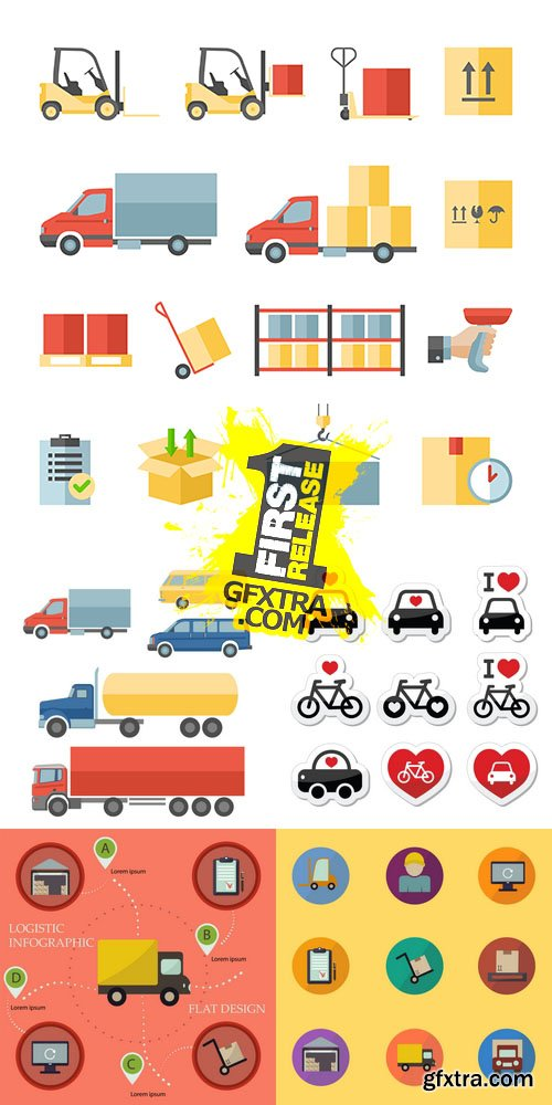 Vector - Transportation and Delivery