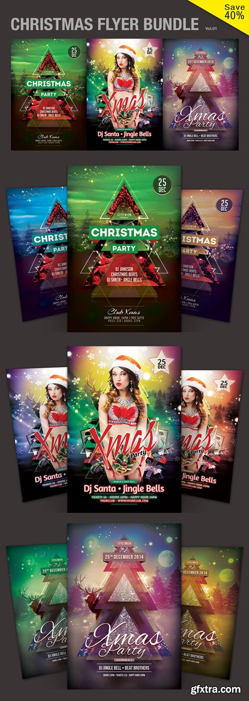 Christmas Flyer Bundle Vo - CM 110474