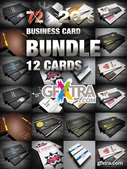 Mega Bundle Business Card 12 in 1