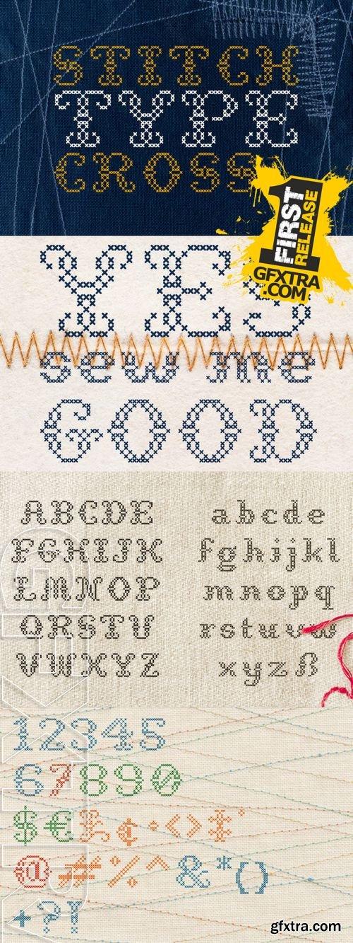 StitchCross Font - CM 50286