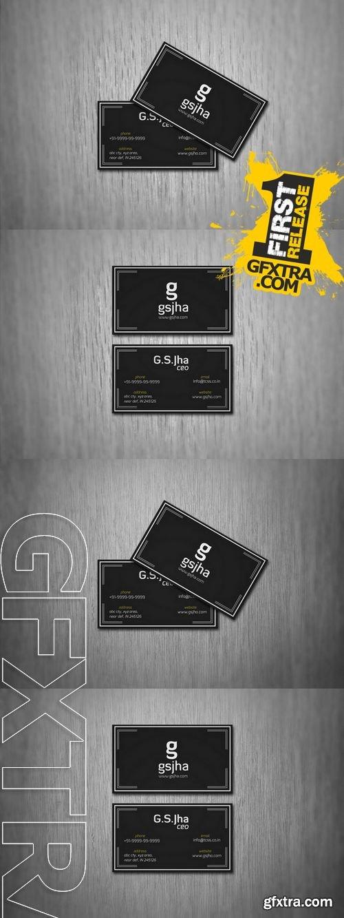 Business Card MockUp - CM 147931