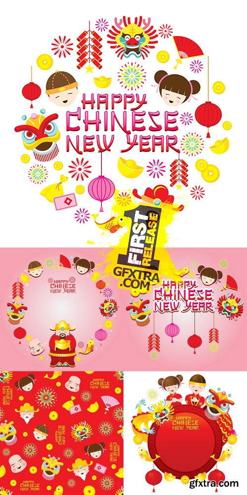 Vector - Chinese New Year Background 2