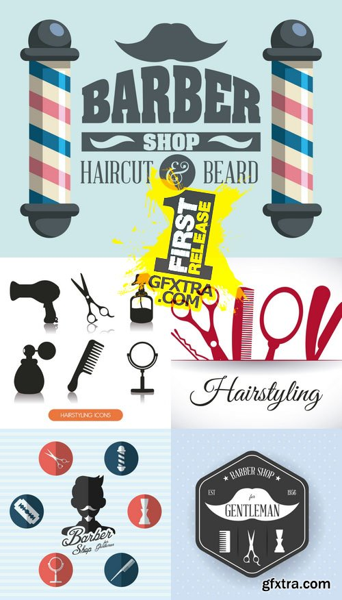 Vector - Hairdressing - Barber Shop
