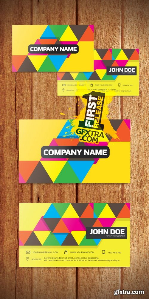 Modern Business Card Template - CM 152294