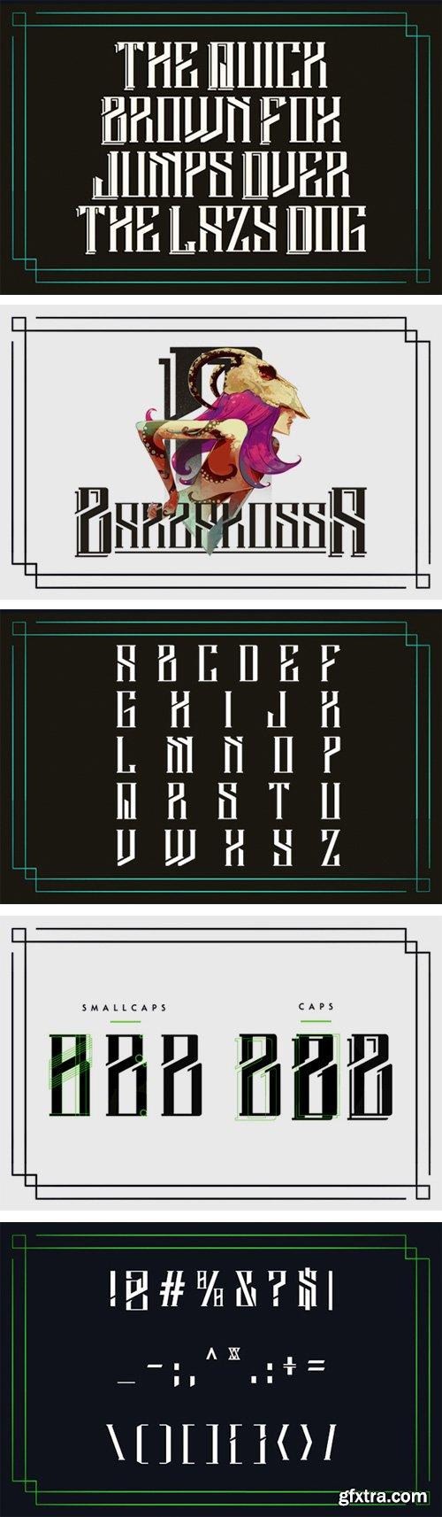 Barbarossa Typeface