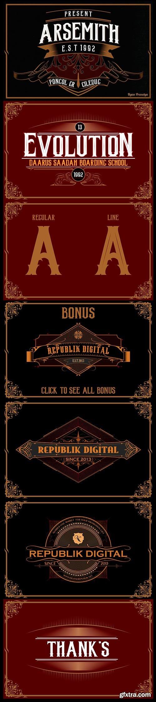 Arsemith + Bonus Poster & Artdeco