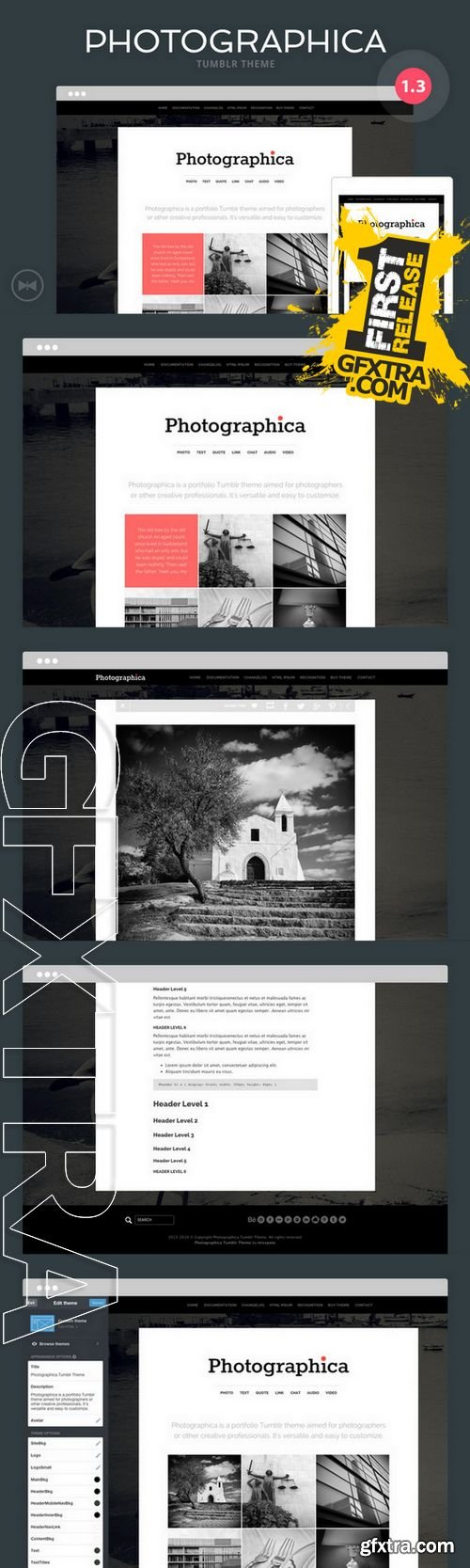 Photographica Tumblr Theme - CM 104908