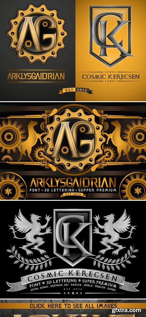 CM - ArklysGaidrian & CosmicKerecsen 3D