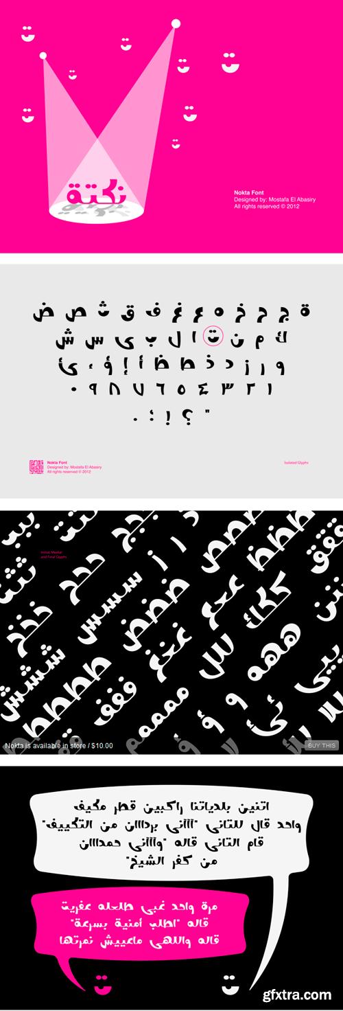 Nokta Arabic Font