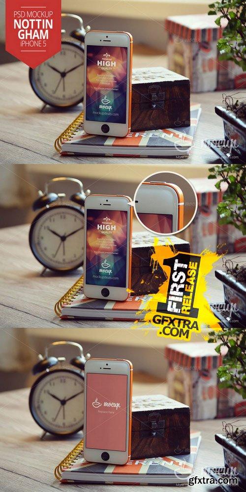 iPhone 5 Mockup Nottingham - CM 152804