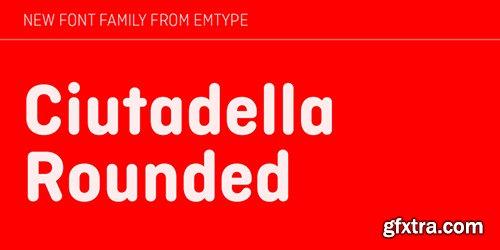 Ciutadella Rounded Font Family - 10 Fonts $250