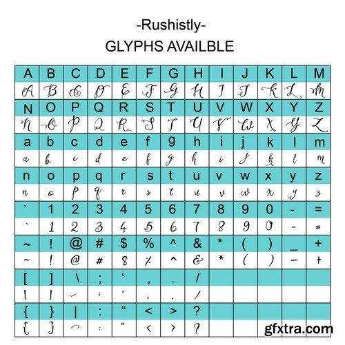 CM - Rushistly Script
