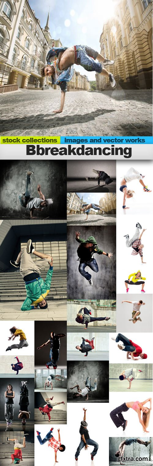 Breakdancing,25 x UHQ JPEG