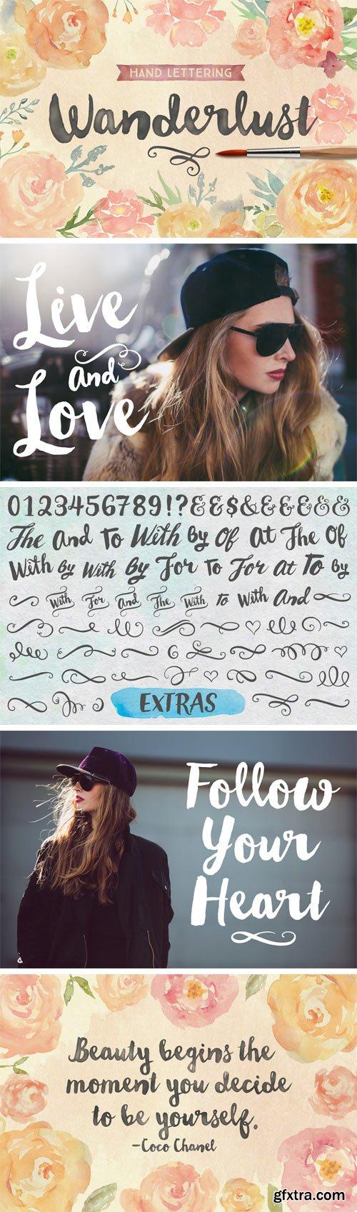 Wanderlust Letters + BONUS