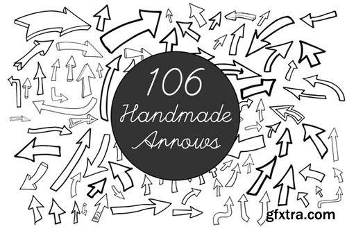 CreativeMarket - Handmade Vector Arrows 128667