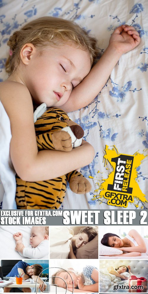 Stock Photos - Sweet sleep 2, 25xJPG