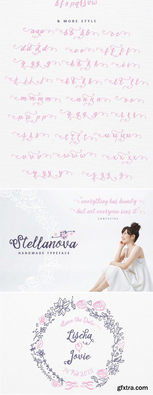 CM - Stellanova Typeface (25% Off)
