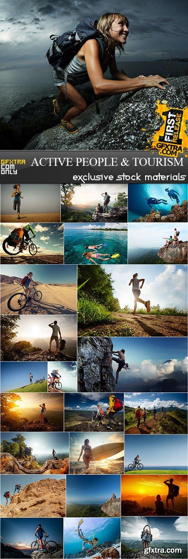 Active People & Tourism, 25xUHQ JPEG