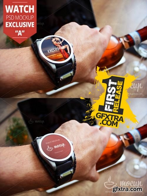 Watch PSD Mockup Exclusive - CM 157721