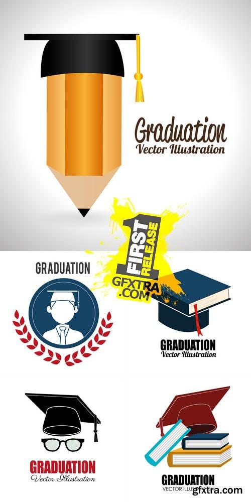 Vector - School Design - Graduation