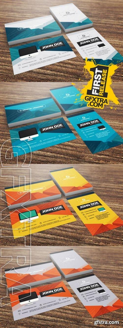 Set of Modern Business Card Template - CM 154643
