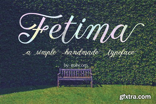 Fetima Script Font