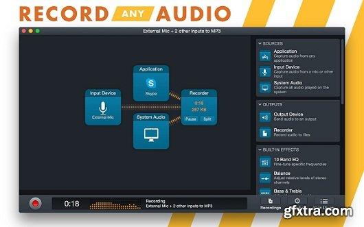 Audio Hijack 3.0 (Mac OS X)