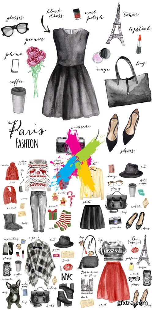 Stock Photo - Fashion Woman's Clothes