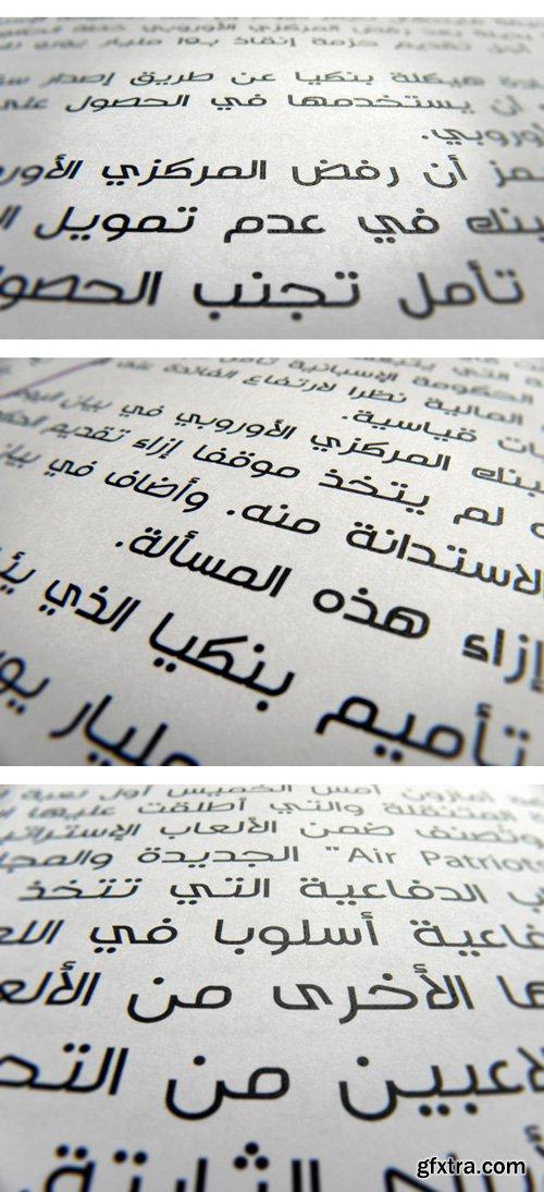 Tasreeh Arabic Typeface