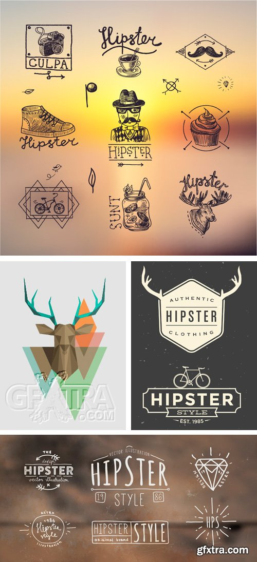 Amazing SS - Hipster Style 2, 25xEPS