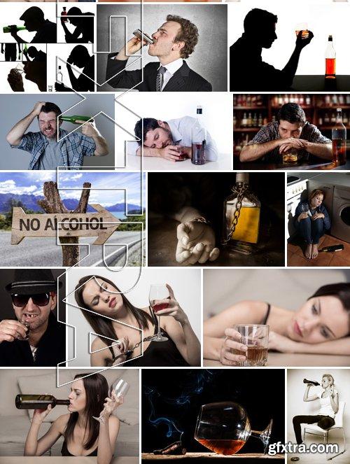 Stock Photos - Stop Alcohol, 25xJPG